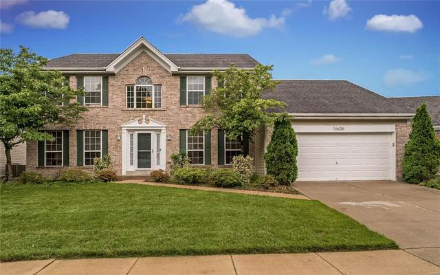 16636 Chesterfield Manor, Chesterfield, MO 63005 (#20038630) :: RE/MAX Vision
