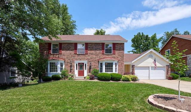 13 Carriage Way West, Saint Peters, MO 63376 (#20038695) :: Realty Executives, Fort Leonard Wood LLC