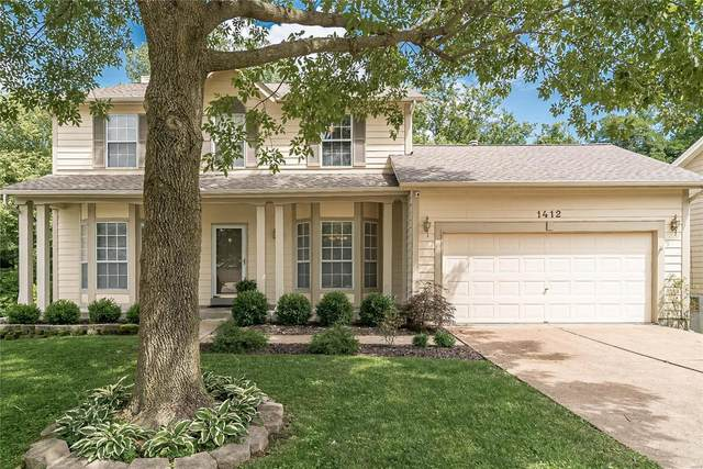 1412 Crystal Pointe Circle, St Louis, MO 63146 (#20038904) :: The Becky O'Neill Power Home Selling Team