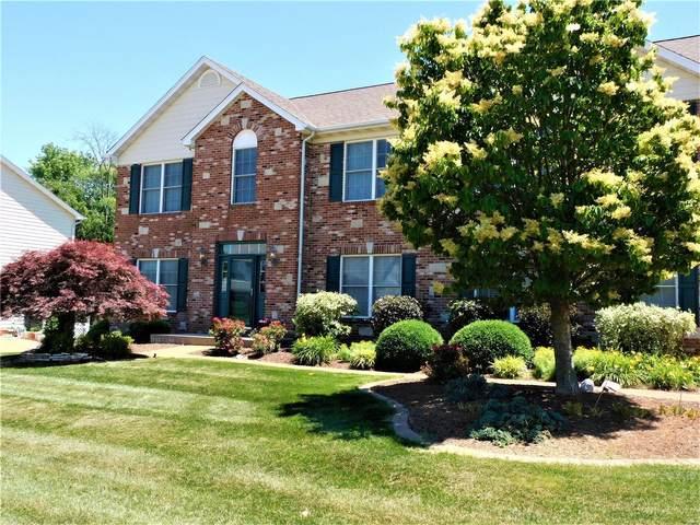 1158 Stonewolf Trail, Fairview Heights, IL 62208 (#20041967) :: Matt Smith Real Estate Group