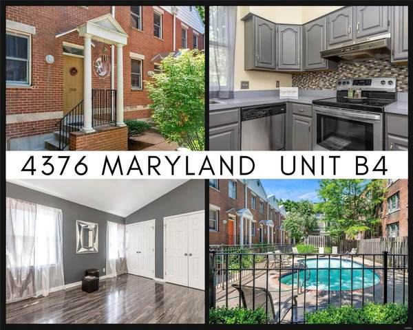 4376 Maryland Avenue B4, St Louis, MO 63108 (#20042565) :: Parson Realty Group