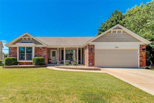 604 Bugle Run, Florissant, MO 63034 (#20043556) :: The Becky O'Neill Power Home Selling Team