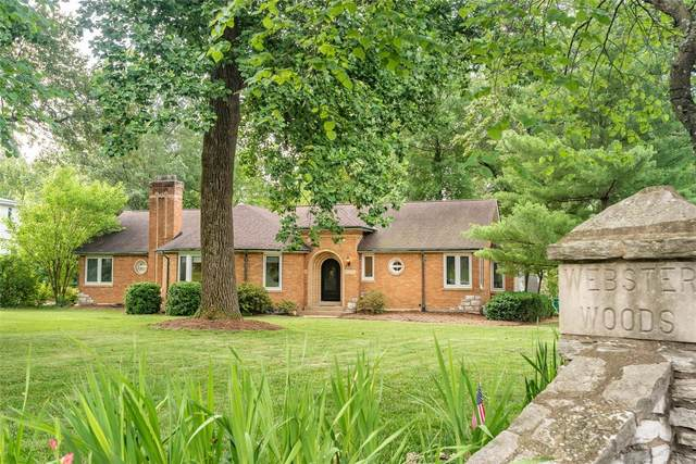 2 Webster Woods Drive, Webster Groves, MO 63119 (#20045022) :: Clarity Street Realty
