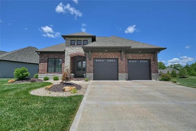 6287 West Park Row, Maryville, IL 62062 (#20045094) :: Tarrant & Harman Real Estate and Auction Co.