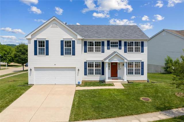 300 Birchwood Crossing Lane, Maryland Heights, MO 63043 (#20045142) :: The Becky O'Neill Power Home Selling Team