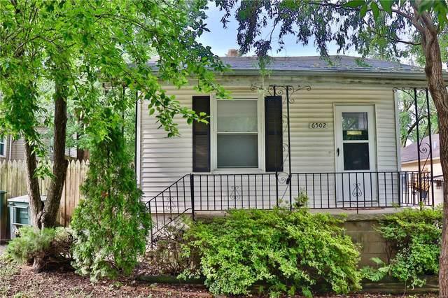 6502 Marmaduke Avenue, St Louis, MO 63139 (#20045285) :: Peter Lu Team