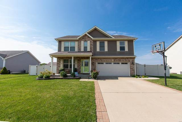 406 Opal Court, Mascoutah, IL 62258 (#20046889) :: Tarrant & Harman Real Estate and Auction Co.