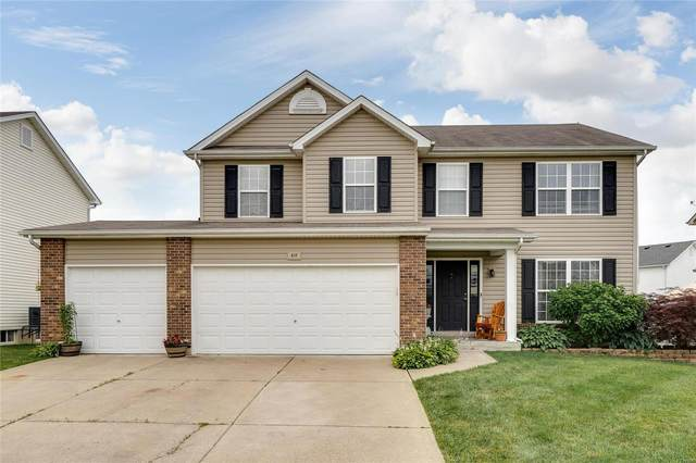 410 Valley Oaks, Wentzville, MO 63385 (#20047277) :: St. Louis Finest Homes Realty Group