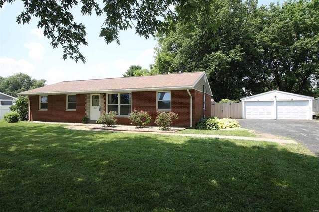 1717 Pleasant Ridge Road, Maryville, IL 62062 (#20047875) :: Clarity Street Realty