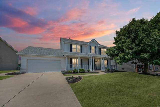 547 Calumet Ranch Trail, Saint Peters, MO 63376 (#20047953) :: The Becky O'Neill Power Home Selling Team