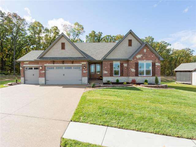 521 Stonewolf Creek Drive, Wentzville, MO 63385 (#20049021) :: Kelly Hager Group | TdD Premier Real Estate
