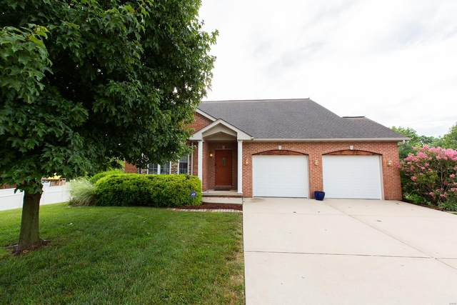 552 Bluestone Court, Mascoutah, IL 62258 (#20050023) :: The Becky O'Neill Power Home Selling Team