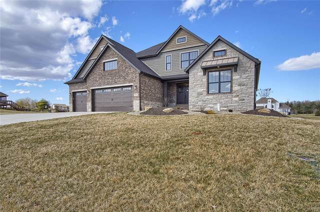 8433 Stone Ledge Drive, Edwardsville, IL 62025 (#20050840) :: The Becky O'Neill Power Home Selling Team