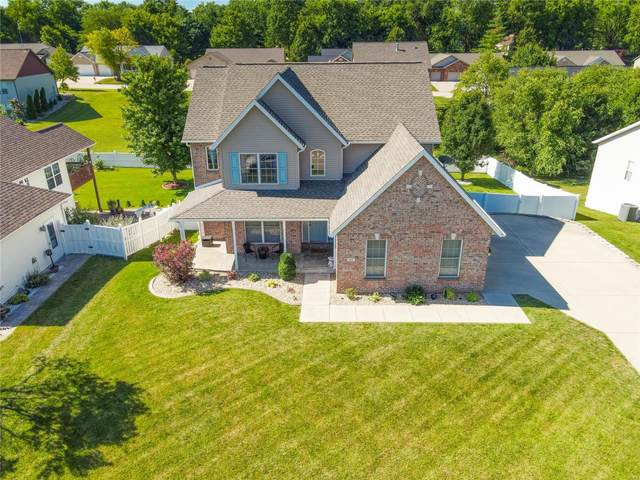 10 Oakwood Court, Maryville, IL 62062 (#20051298) :: Tarrant & Harman Real Estate and Auction Co.