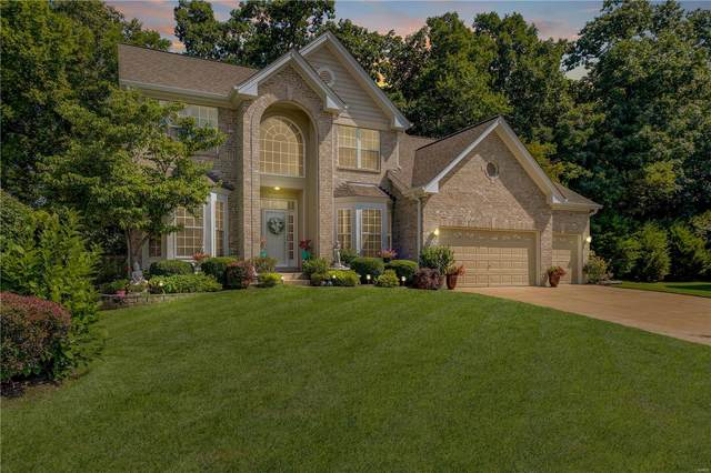 16039 Canterbury Estates Drive, Ellisville, MO 63021 (#20051409) :: The Becky O'Neill Power Home Selling Team