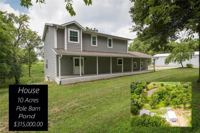 1719 Ness School Road, BUNKER HILL, IL 62014 (#20051594) :: Tarrant & Harman Real Estate and Auction Co.