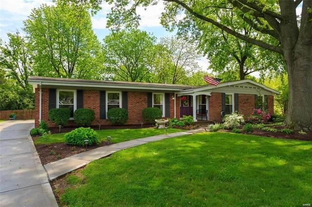 354 Greenbriar Lane, Ballwin, MO 63011 (#20052205) :: The Becky O'Neill Power Home Selling Team