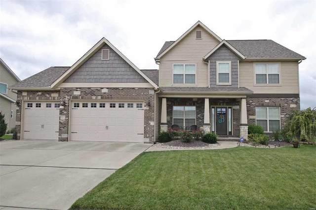 131 Oakshire Drive, Glen Carbon, IL 62034 (#20052550) :: Fusion Realty, LLC