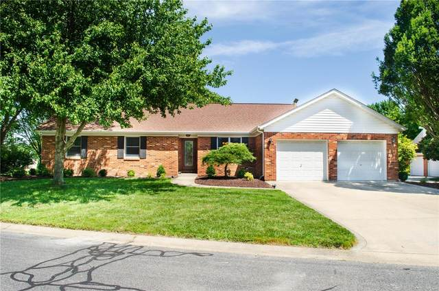 120 Wheat Ridge Lane, Millstadt, IL 62260 (#20053248) :: The Becky O'Neill Power Home Selling Team