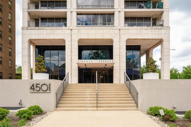 4501 Lindell Boulevard 4H, St Louis, MO 63108 (#20053327) :: Tarrant & Harman Real Estate and Auction Co.