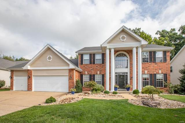 16043 Canterbury Estates Drive, Ellisville, MO 63021 (#20053599) :: The Becky O'Neill Power Home Selling Team