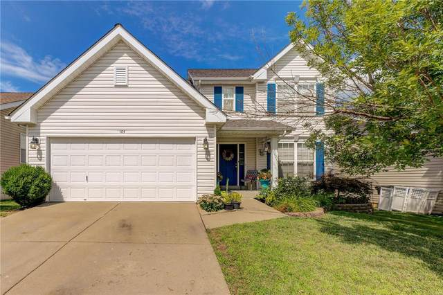 105 Brookfield Boulevard, Wentzville, MO 63385 (#20053979) :: The Becky O'Neill Power Home Selling Team