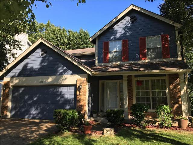 820 Ginger Wood, Ballwin, MO 63021 (#20054196) :: The Becky O'Neill Power Home Selling Team