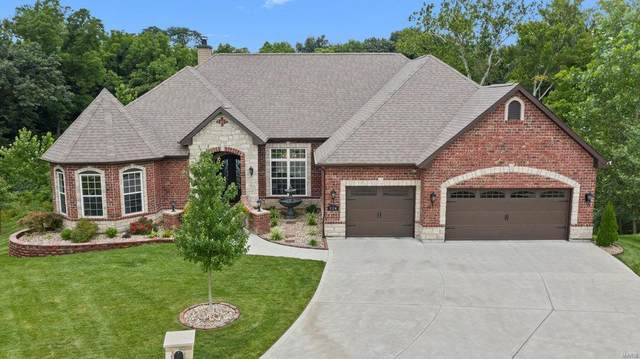 114 Place De Yeager, Lake St Louis, MO 63367 (#20054538) :: St. Louis Finest Homes Realty Group