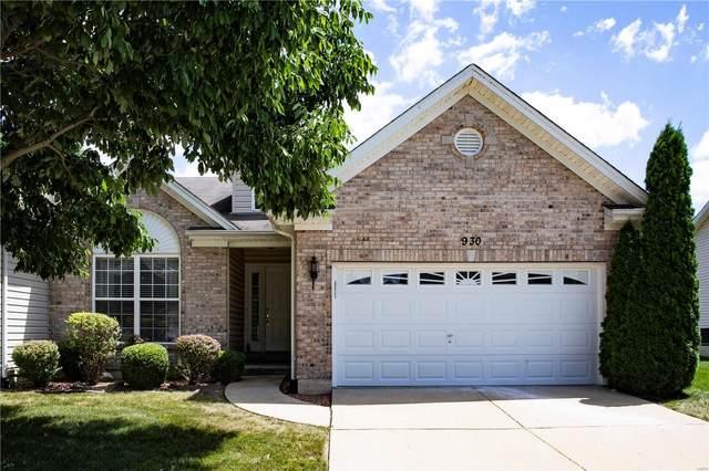 930 Saint Joachim Drive, O'Fallon, MO 63366 (#20054628) :: The Becky O'Neill Power Home Selling Team