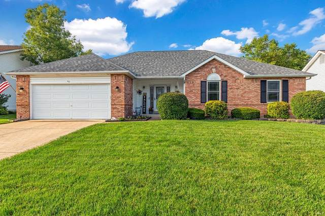 561 Quarterhorse Trail, Saint Peters, MO 63376 (#20056064) :: Parson Realty Group