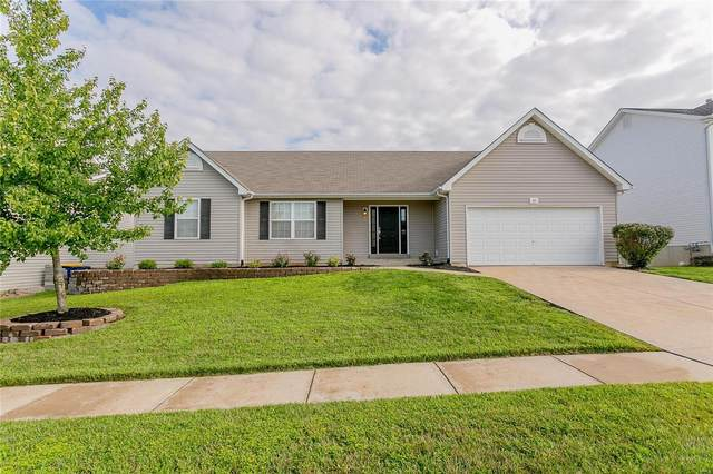 421 Valley Oaks Drive, Wentzville, MO 63385 (#20056212) :: Kelly Hager Group | TdD Premier Real Estate
