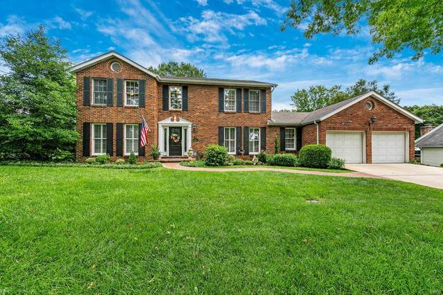 548 Ballas Trails Drive, St Louis, MO 63122 (#20056242) :: The Becky O'Neill Power Home Selling Team