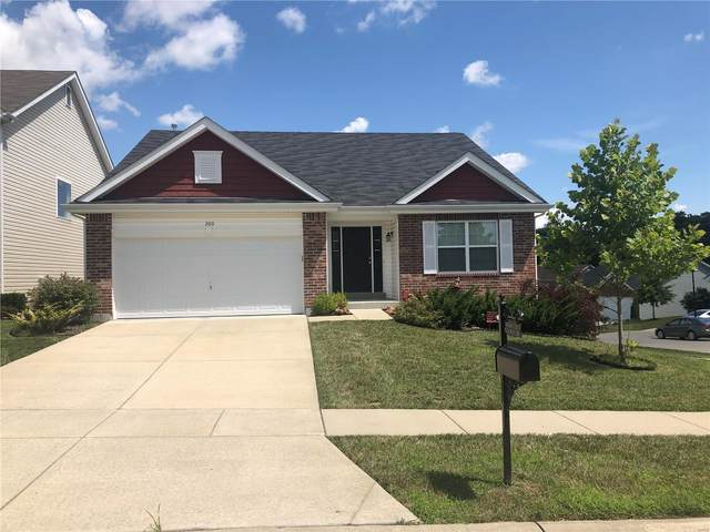 300 Pecan Bluffs Drive, Wentzville, MO 63385 (#20056421) :: Kelly Hager Group | TdD Premier Real Estate