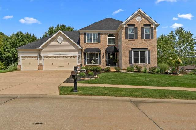 829 Spring Cove Court, Eureka, MO 63025 (#20056462) :: The Becky O'Neill Power Home Selling Team