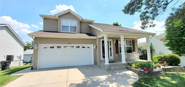 2743 Brookrun Drive, Belleville, IL 62221 (#20056749) :: The Becky O'Neill Power Home Selling Team