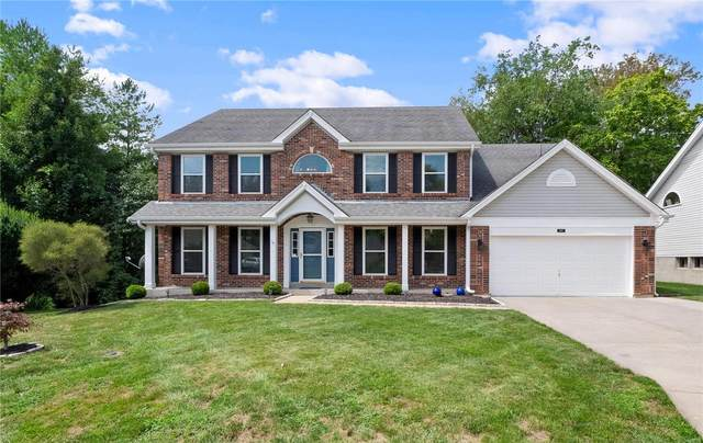 107 Crystal Springs Court, Chesterfield, MO 63005 (#20057085) :: The Becky O'Neill Power Home Selling Team