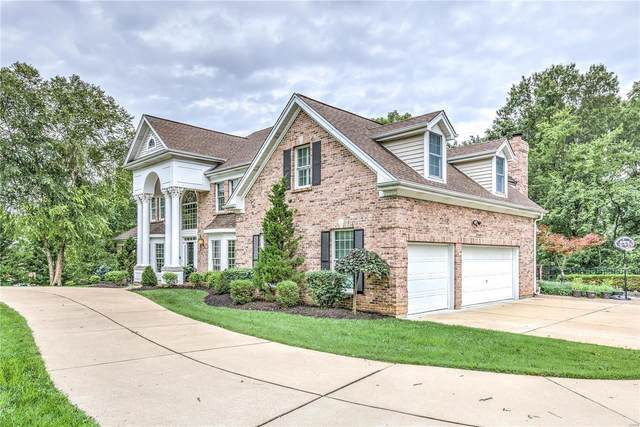 12820 Topping Woods Estate Drive, St Louis, MO 63131 (#20057327) :: Parson Realty Group