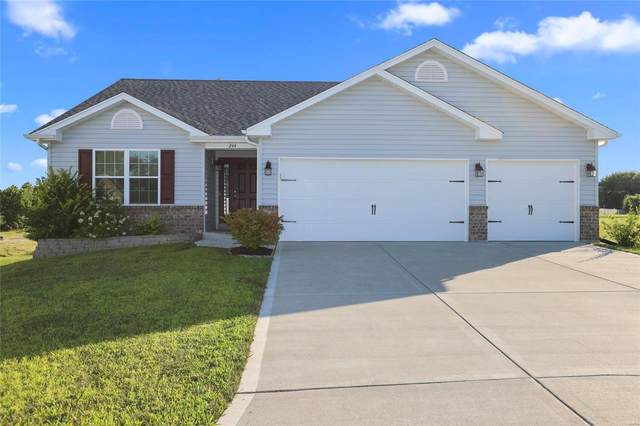 244 Red Leaf Way Drive, Wright City, MO 63390 (#20057585) :: Parson Realty Group
