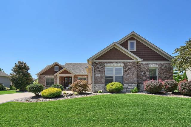 3339 Drysdale Court, Edwardsville, IL 62025 (#20057662) :: The Becky O'Neill Power Home Selling Team