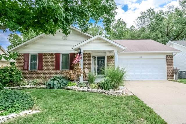 38 Barrington Drive, Saint Peters, MO 63376 (#20057984) :: Parson Realty Group