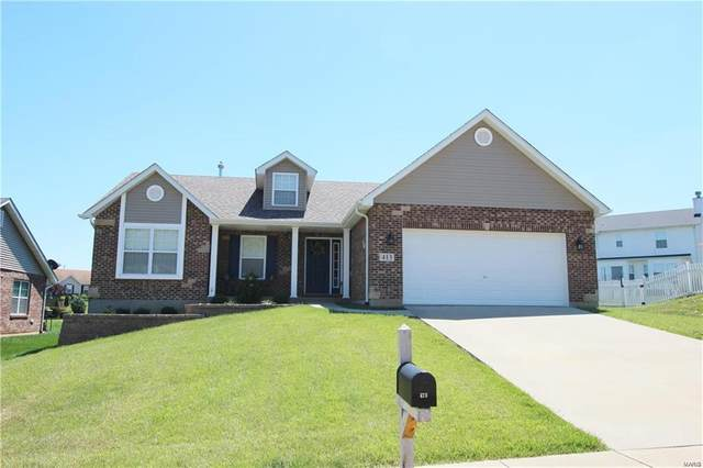 413 Micahs Way, Columbia, IL 62236 (#20058219) :: Parson Realty Group