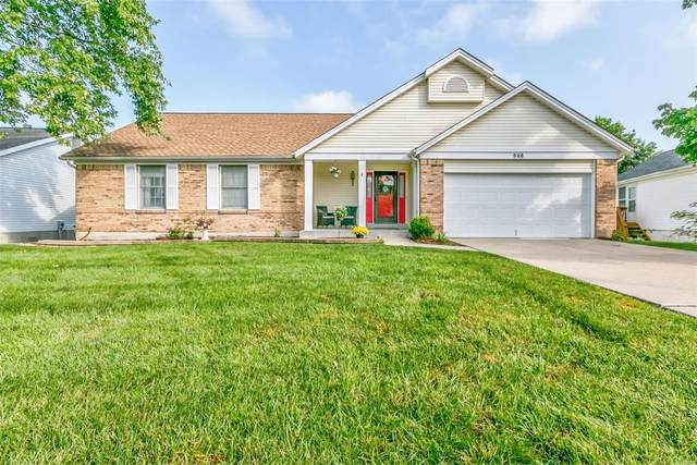 948 Weatherstone Drive, Saint Charles, MO 63304 (#20058337) :: St. Louis Finest Homes Realty Group
