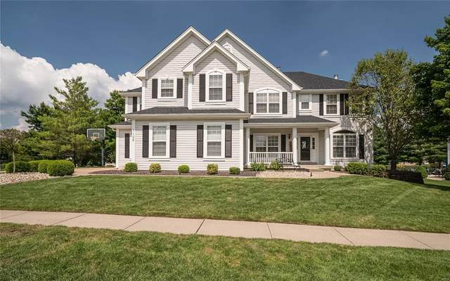 1106 Wildhorse Meadows Drive, Chesterfield, MO 63005 (#20058790) :: The Becky O'Neill Power Home Selling Team