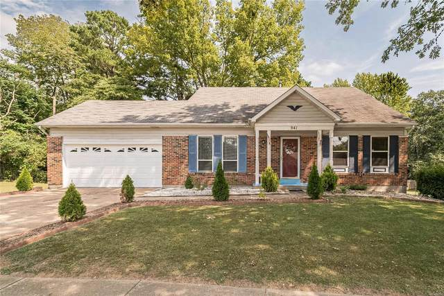 941 Peace Haven Drive, St Louis, MO 63125 (#20058795) :: Clarity Street Realty