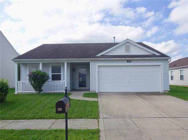 220 Falling Leaf Way, Mascoutah, IL 62258 (#20059330) :: The Becky O'Neill Power Home Selling Team