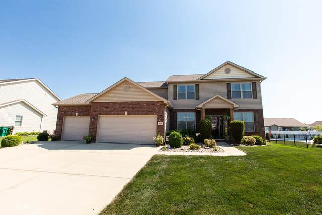 9668 Weatherby Street, Mascoutah, IL 62258 (#20060948) :: Kelly Hager Group | TdD Premier Real Estate