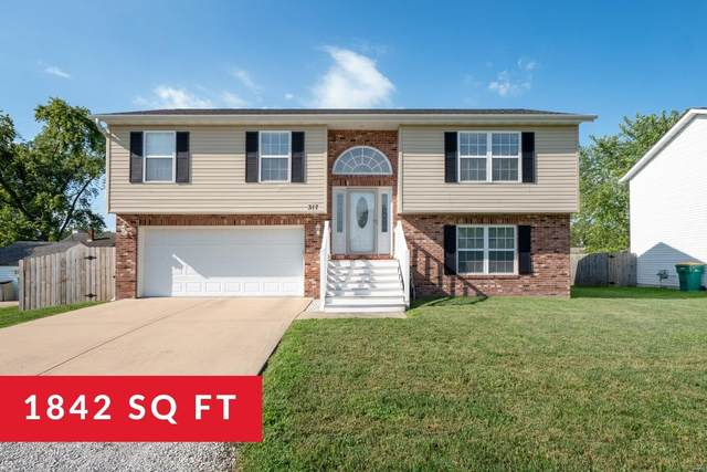 317 W South Street, Mascoutah, IL 62258 (#20061543) :: The Becky O'Neill Power Home Selling Team
