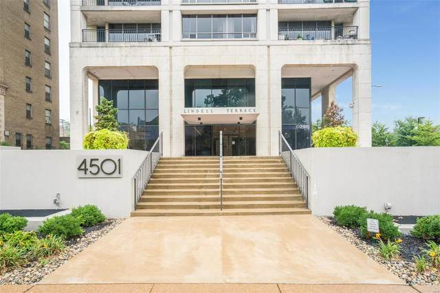 4501 Lindell Boulevard 12H, St Louis, MO 63108 (#20063853) :: Clarity Street Realty