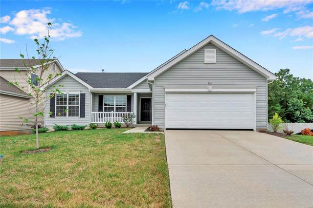 514 Horseshoe Bend Drive, Wentzville, MO 63385 (#20064337) :: The Becky O'Neill Power Home Selling Team