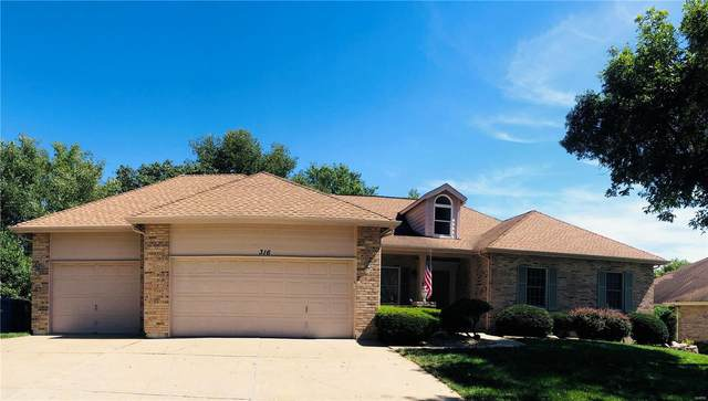 316 Meadow Place Drive, Saint Charles, MO 63303 (#20064868) :: The Becky O'Neill Power Home Selling Team